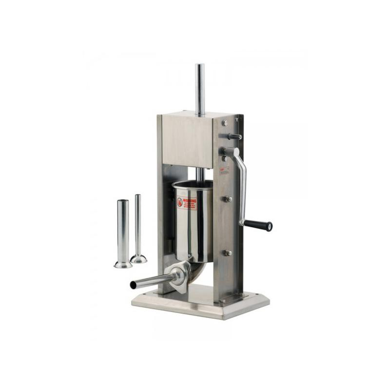 Poussoir à saucisse manuel en inox - N5750  Tellier, Vertical Inox 3L