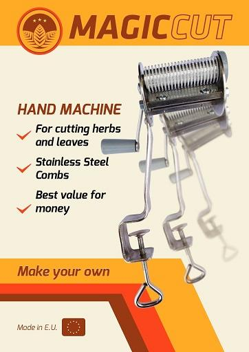 MAGIC CUT hand tobacco cutter  - Best choice when it comes to tobacco cutting machines for home use.