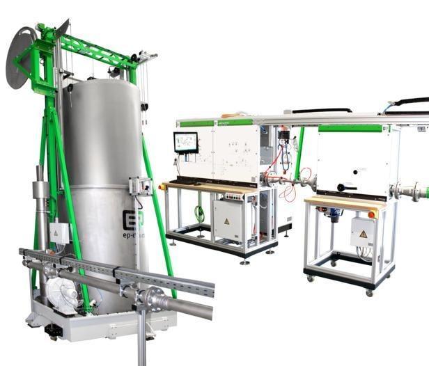 Flow calibration - Gas measuring bell  -