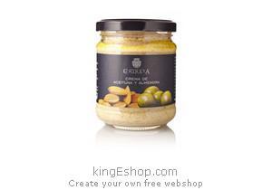 Tapenade d'Olives Vertes aux Amandes - Référence : 9902