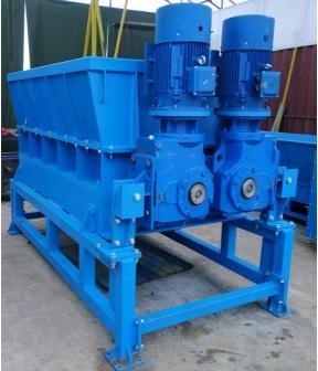 Шредер (измельчитель) крупногабаритных отходов - Шредер (измельчитель) крупногабаритных отходов производительность до 20 т/ч