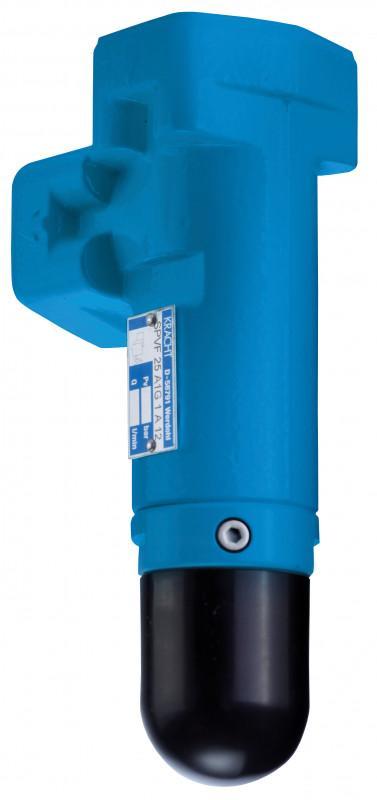 Válvulas limitadoras de presión SPV/SPVF - Válvula deslizante de acción directa para instalación en tuberías