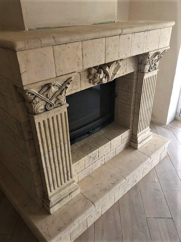 Каминная облицовка - Огнеупорная керамика для каминов и печей