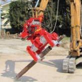 Forage des sols - Outils - Pinces pour machines MORI