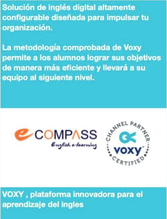 curso online de ingles - Voxy ingles online