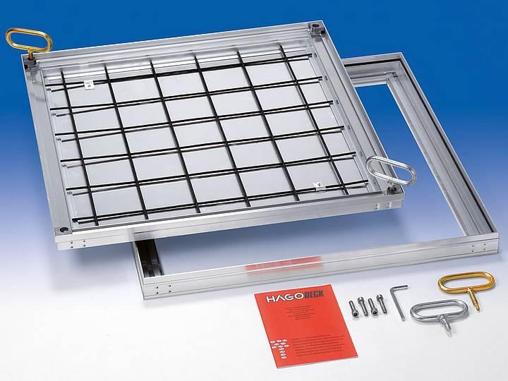 BVA-SL slim Aluminium Only 50mm installation depth,... - Only 50mm installation depth, odour and waterproof