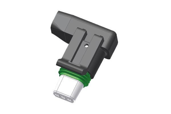 Connettore angolato per pompe circolatori Grundfos UPM3 con  -