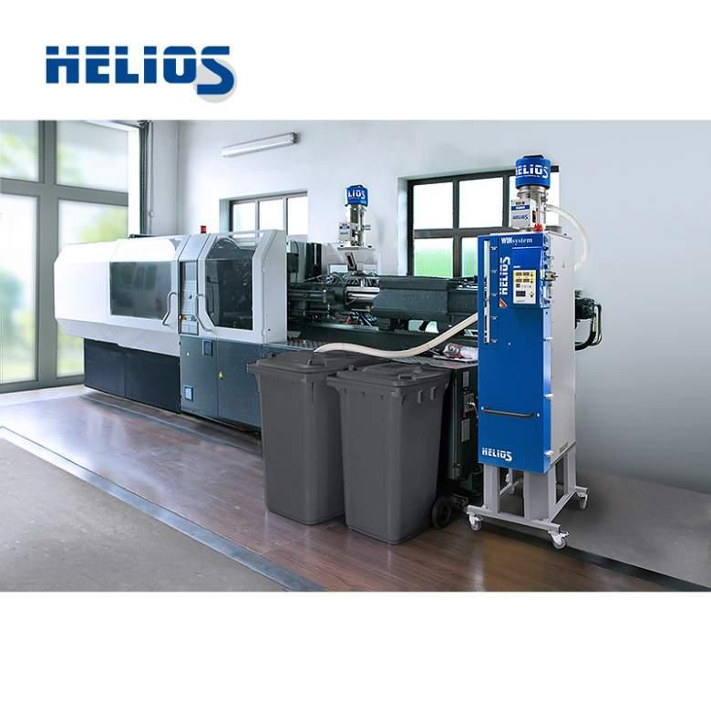 Mobile dryer JETBOXX® - Mobile plastic granules dryer for placement next to the processing machine