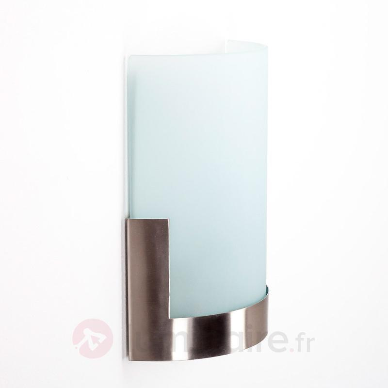 Applique Karla élégante à éléments en métal - Appliques chromées/nickel/inox