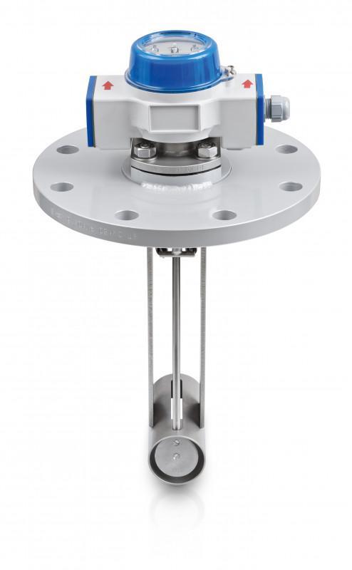 DW 184 - Mechanical flow switch / for liquids / max. 300 °C