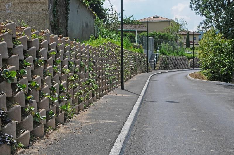 Murs de soutènement végétalisés - Atalus 120