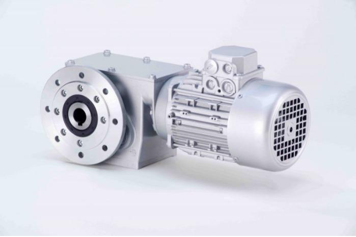 SN19FH - Zweistufiger Getriebemotor mit Hohlwelle