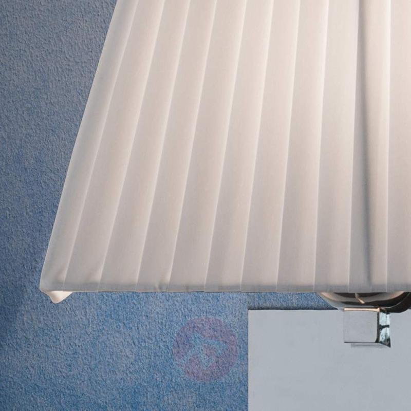 Coleta Fabric Wall Light with Reading Light - Wall Lights
