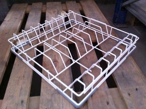 Dishwashing and Laundry - BASKET 500X500 FOR PLATES MAX. H=320MM
