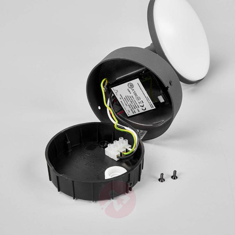 Finny - LED outdoor wall lamp with motion detector - Outdoor Wall Lights