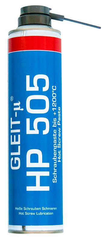 Schraubenpaste bis 1200 °C - GLEIT-µ® HP 505