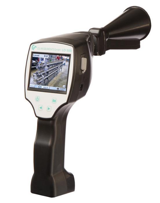 LD 500 - Leckortungsgerät mit Kamera - Zeigt Leckagerate in l/min und Kosten in €