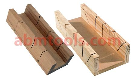 Mitre Box - These slots provide the guide for the saw to follow.