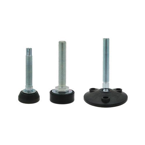 Pies nivelados - Pies para nivelación, pies de ajuste de base