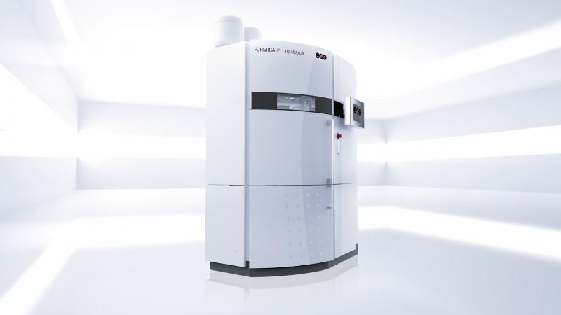 FORMIGA P 110 Velocis - Compact-class system for a cost-efficient entry into Additive Manufacturing.