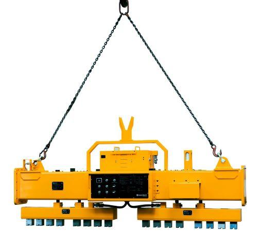 Electro Permanent Magnetic Beam with integrated Battery - HEBPS-06-013 / For Lifting of profiles up to 6.000 mm le,gth.