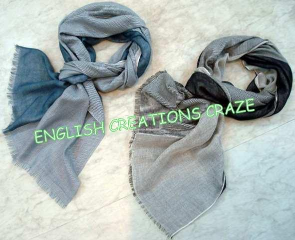 Cotton with Triple layer Scarves - Cotton with Triple layer Scarves