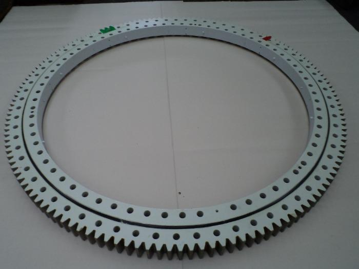 Slewing rings - for different purposes including pitch and yaw bearings for windmills