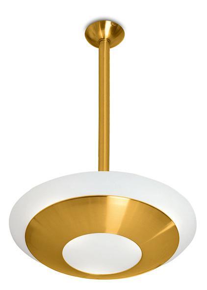 Art deco ceiling light fixture - Model 601