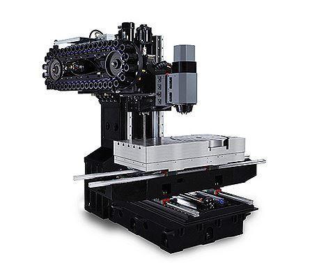 5-Achs-Bearbeitungszentrum - VMX 42 SRTi - Schwenkkopf/Rundtisch-Konfiguraton für fertigung mit hoher Variantenvielfalt
