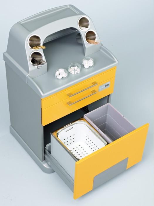 Orbit - Le système d'agencement modulaire mobile - Agencement modulaire pour cabinets gynécologiques/proctologiques