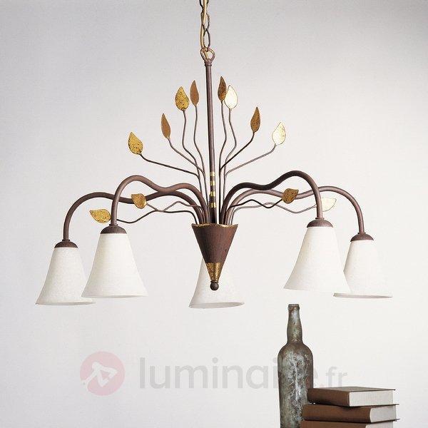 Impressionnant lustre NATIVO - Lustres rustiques