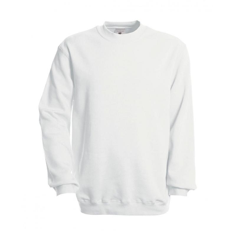Sweat shirt manches montées - Sans capuche