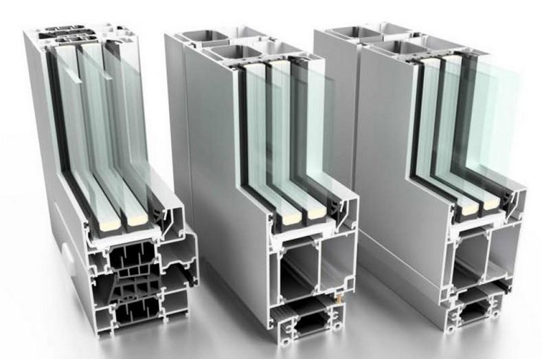 Оконно-дверной алюминиевый профиль с термомостом - Система алюминиевых профилей с терморазрывом для изготовления окон, дверей.