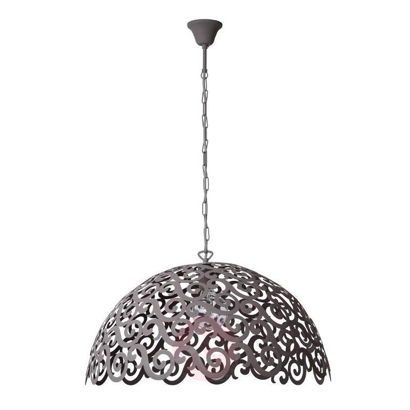 Sand grey Germine hanging light - Pendant Lighting