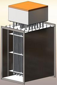 Electrical air heaters - Electrical air heaters TYP LEH-Exe