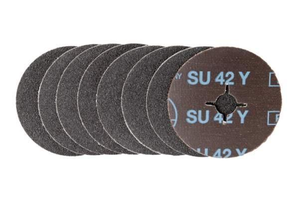 Schleifscheiben für Holz / Fußboden, Glas, Metall SU42Y - Körnungen: P24, P36, P40, P50, P60, P80, P100, P120, P150