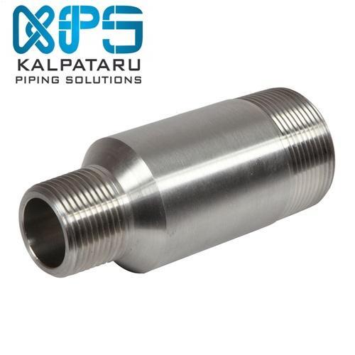Stainless Steel 316/316L Swage Nipple - Stainless Steel 316/316L Swage Nipple