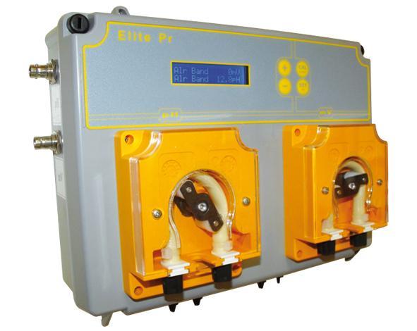 Pompe peristaltique - Piscine - Regulation Double ELITE PR INJECTA