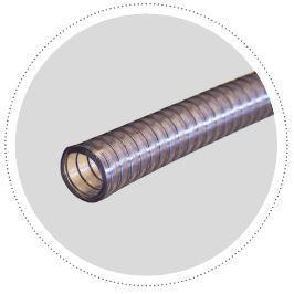 Tuyau transparent lisse en thermoplastique