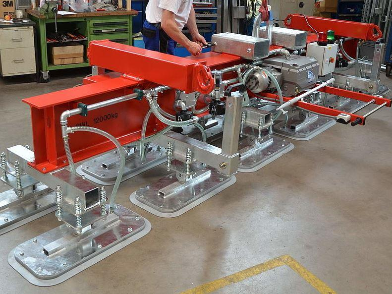 vacuum lifter - up to 16.000 kg - null
