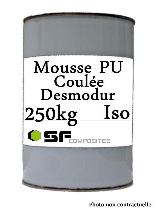 Resines polyurethanes - MOUSSE PU COULEE DESMODUR250KG