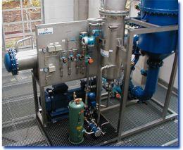 Plants Solvent Recovery - CON fix ® 550 S EEx - Heat Pump Evaporator