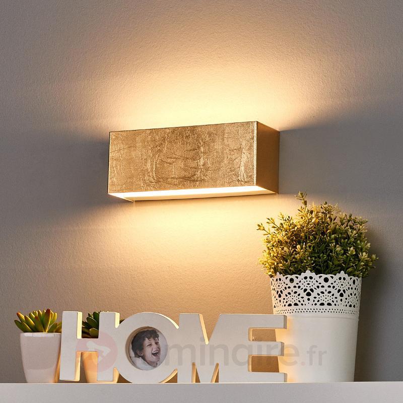 Applique LED dorée Quentin - Appliques LED