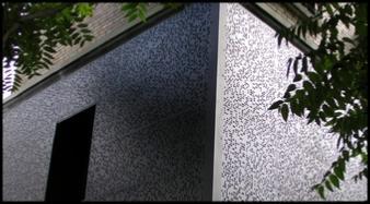 Panneau métallique teinte noire - Effet de résonance - null