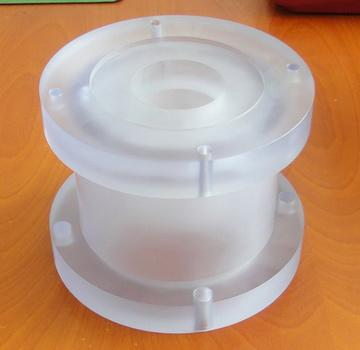 Acrylic machining parts - null