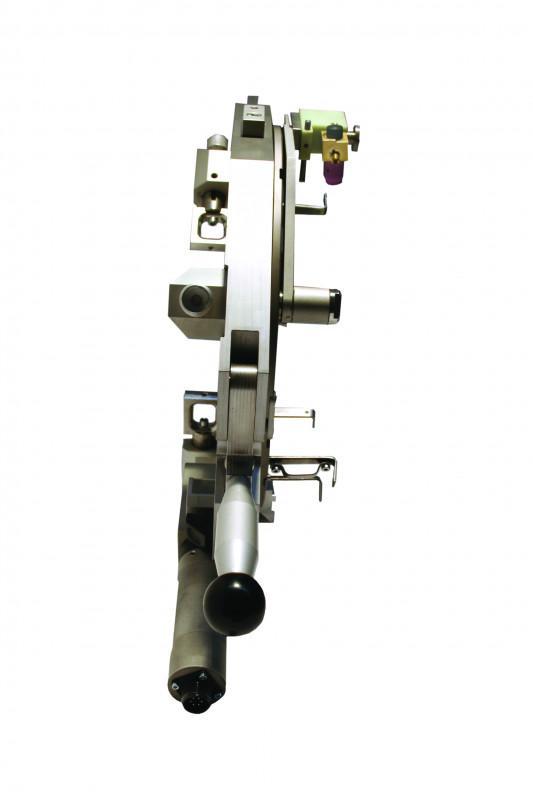 OSZ series - Open-frame weld head for larger pipe diameters + thinner walls - OSZ, Orbitec