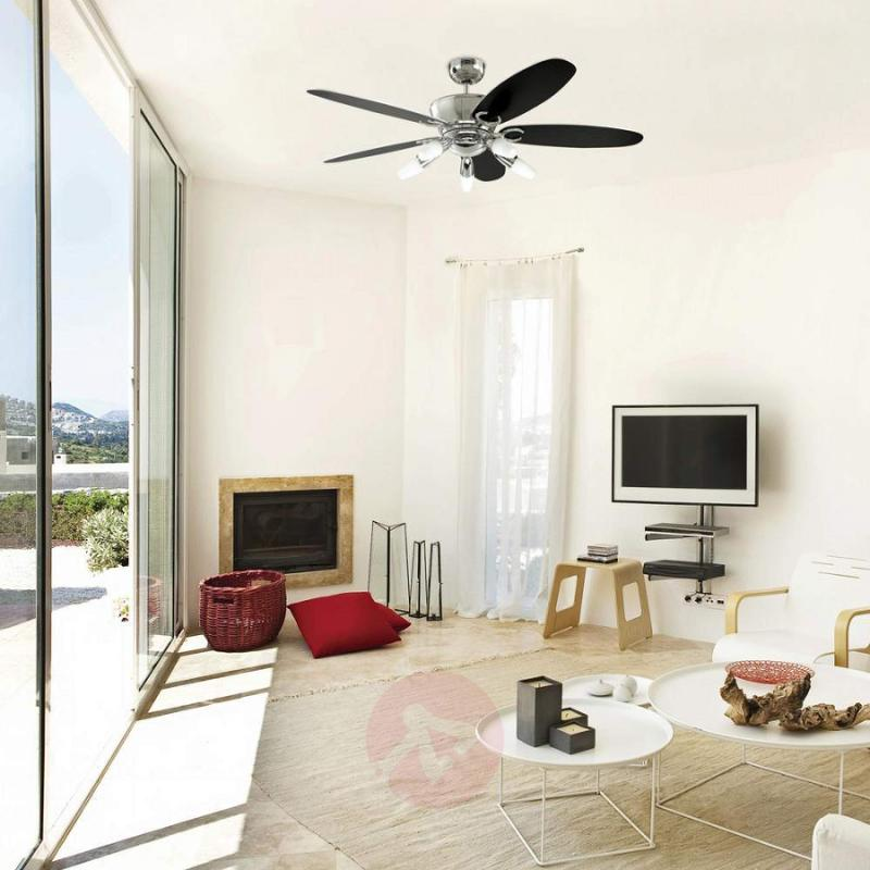 Airus ceiling fan, energy-saving, remote control - fans