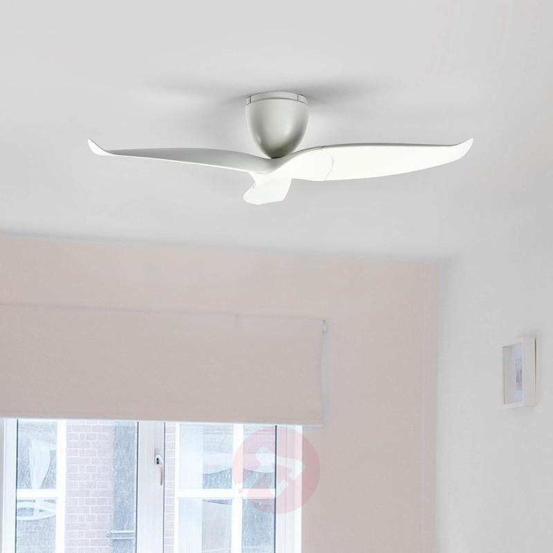 Aeratron ceiling fan, white, 126 cm - fans