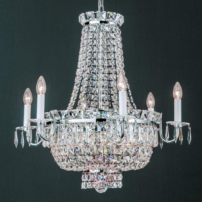 Striking crystalchandelier Ambassador - design-hotel-lighting