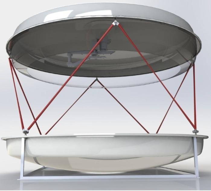 Комплекс приёма данных с метеоспутников  - «Лентикулярис» - междисциплинарная лаборатория для школьного образования